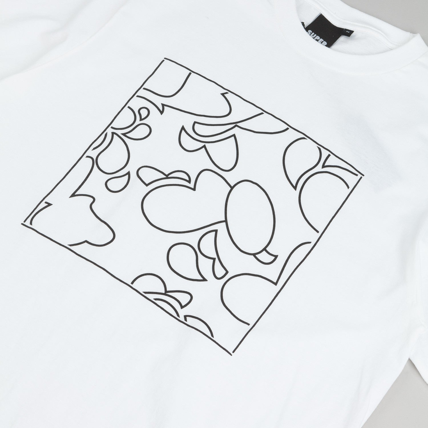 Colorsuper Camo Tribe Edition T-Shirt - White / Black
