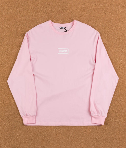 Colorsuper CSPR Long Sleeve T-Shirt - Pink / White
