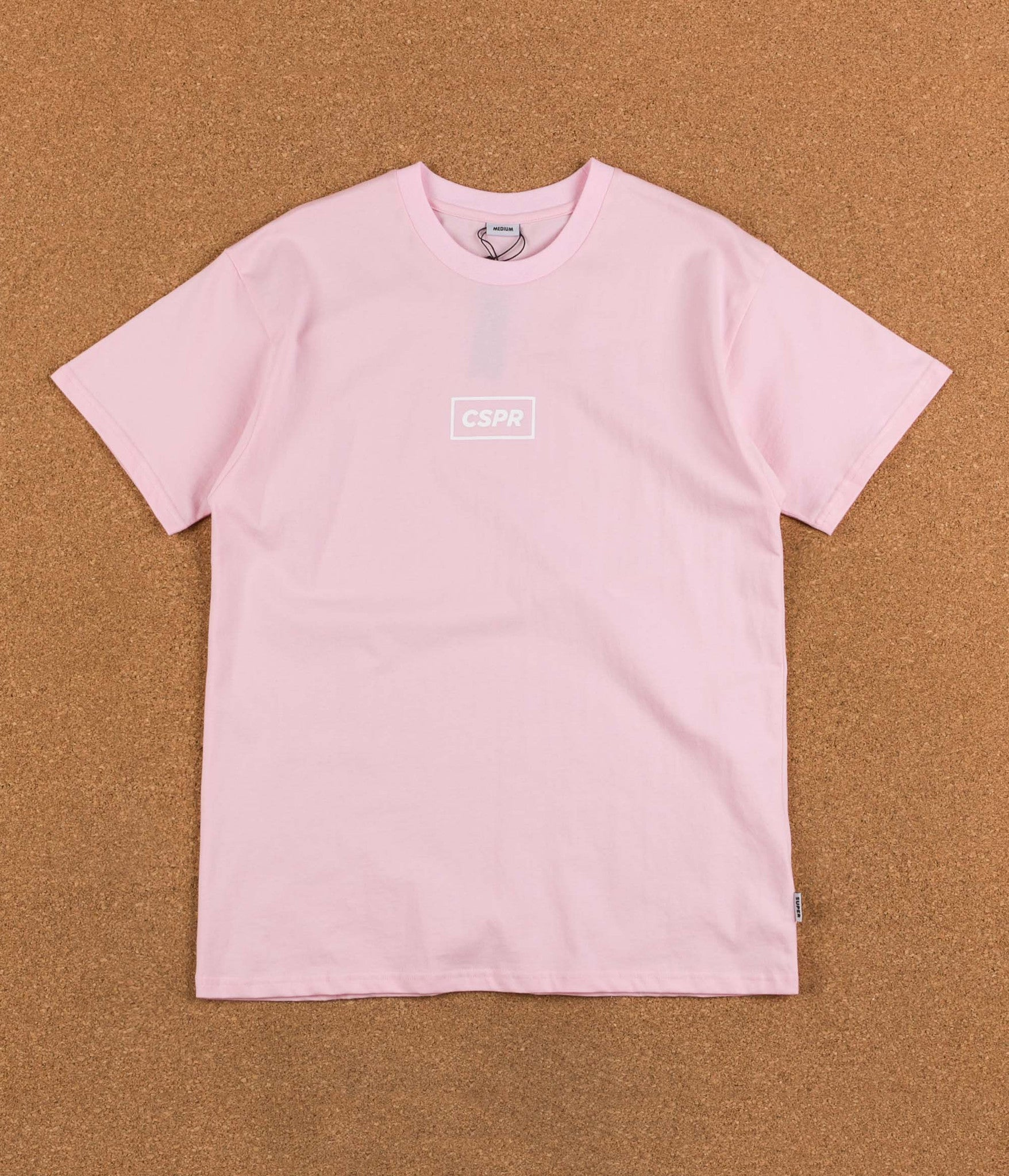 Colorsuper CSPR T-Shirt - Pink / White