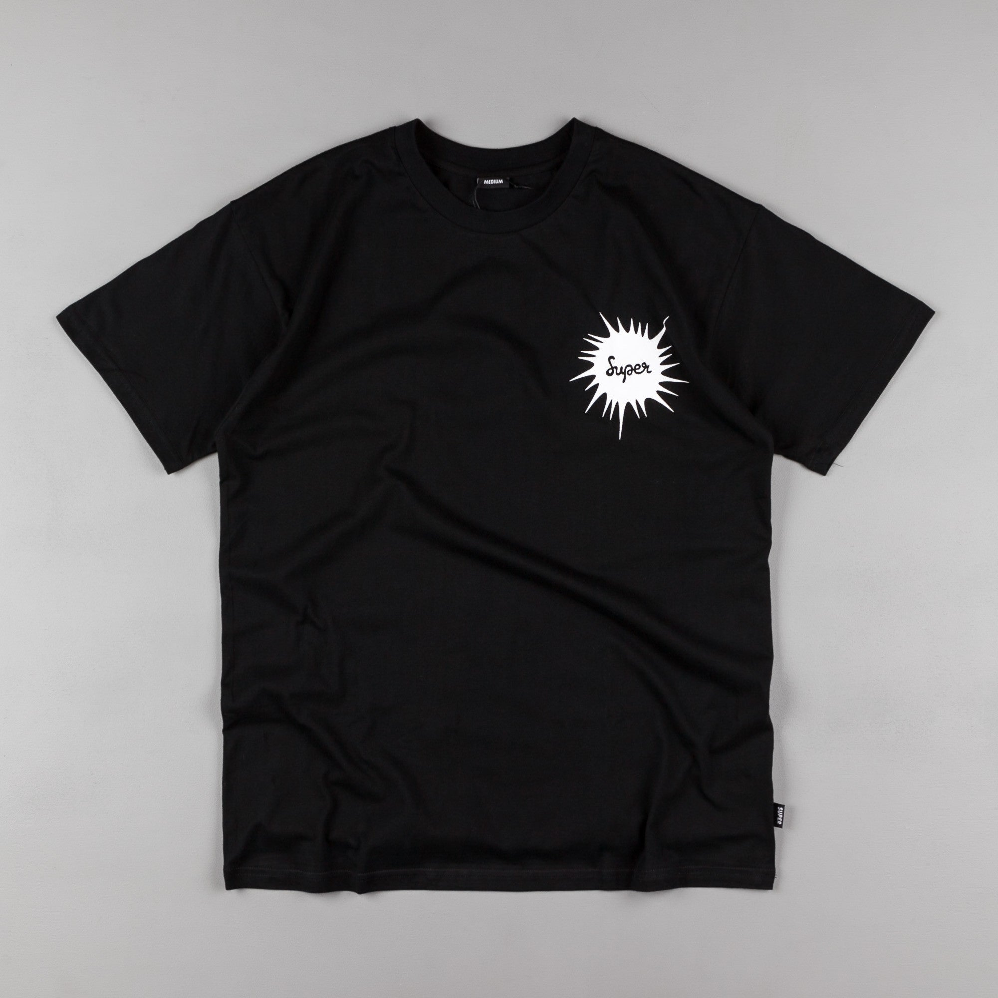 Colorsuper Frequency T-Shirt - Black / White