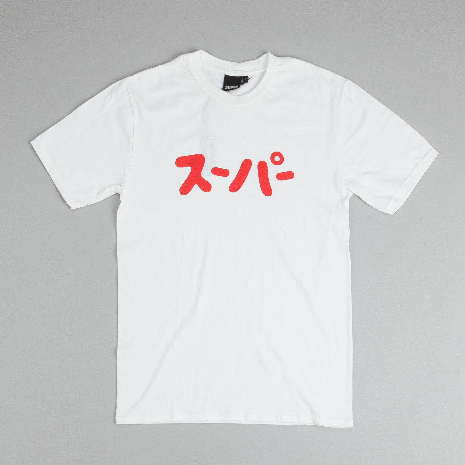 Colorsuper Super Katakana T Shirt White / Red