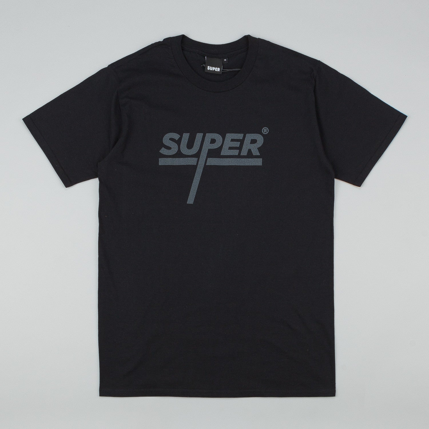 Colorsuper Super Titled T-Shirt - Black / Grey