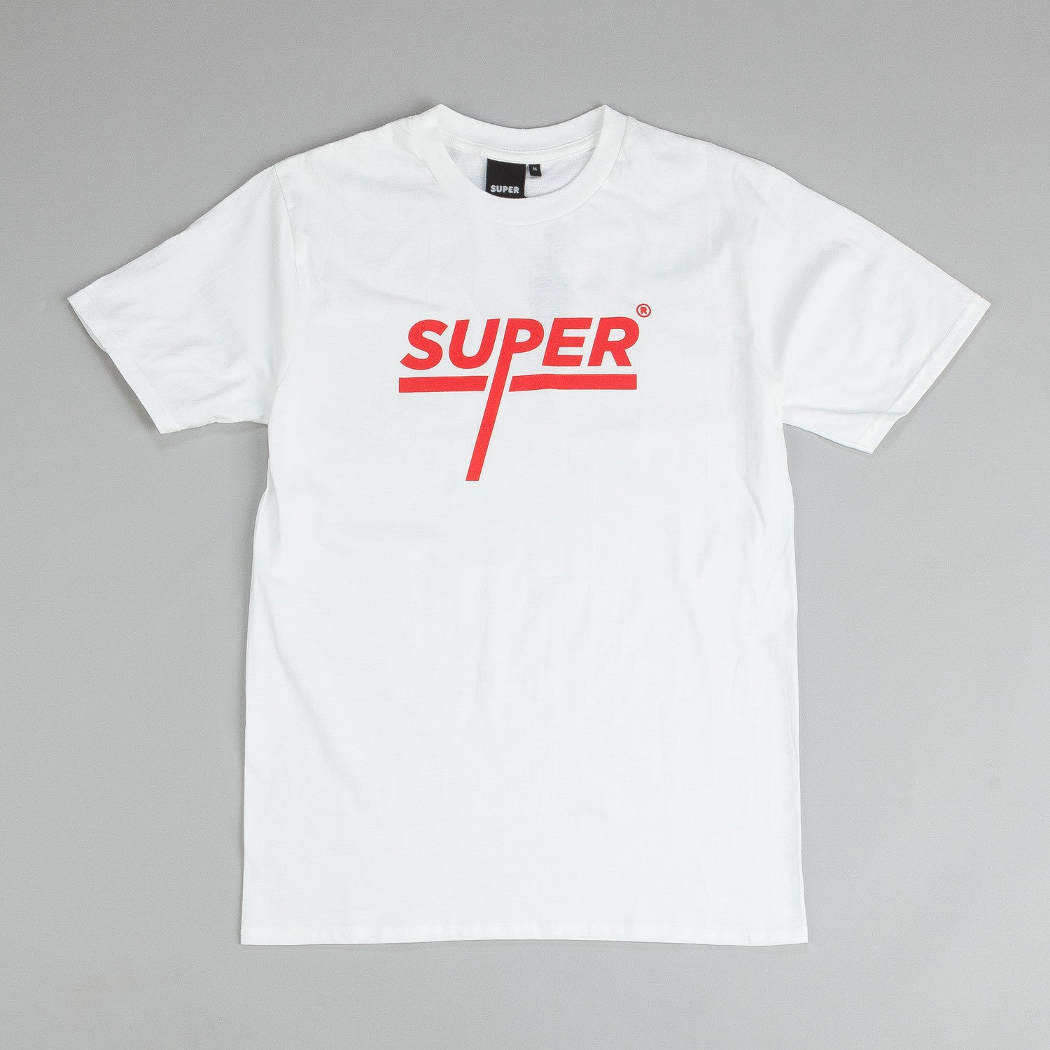 Colorsuper Super Underline T Shirt White / Red