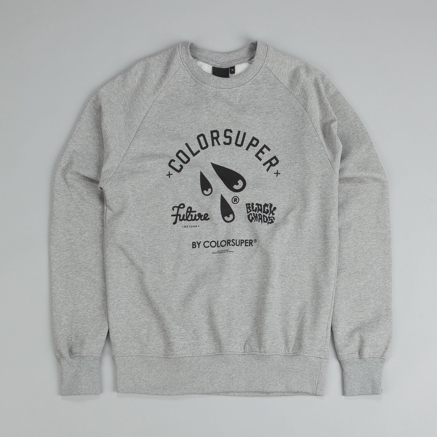Colorsuper Sweater Grey / Black
