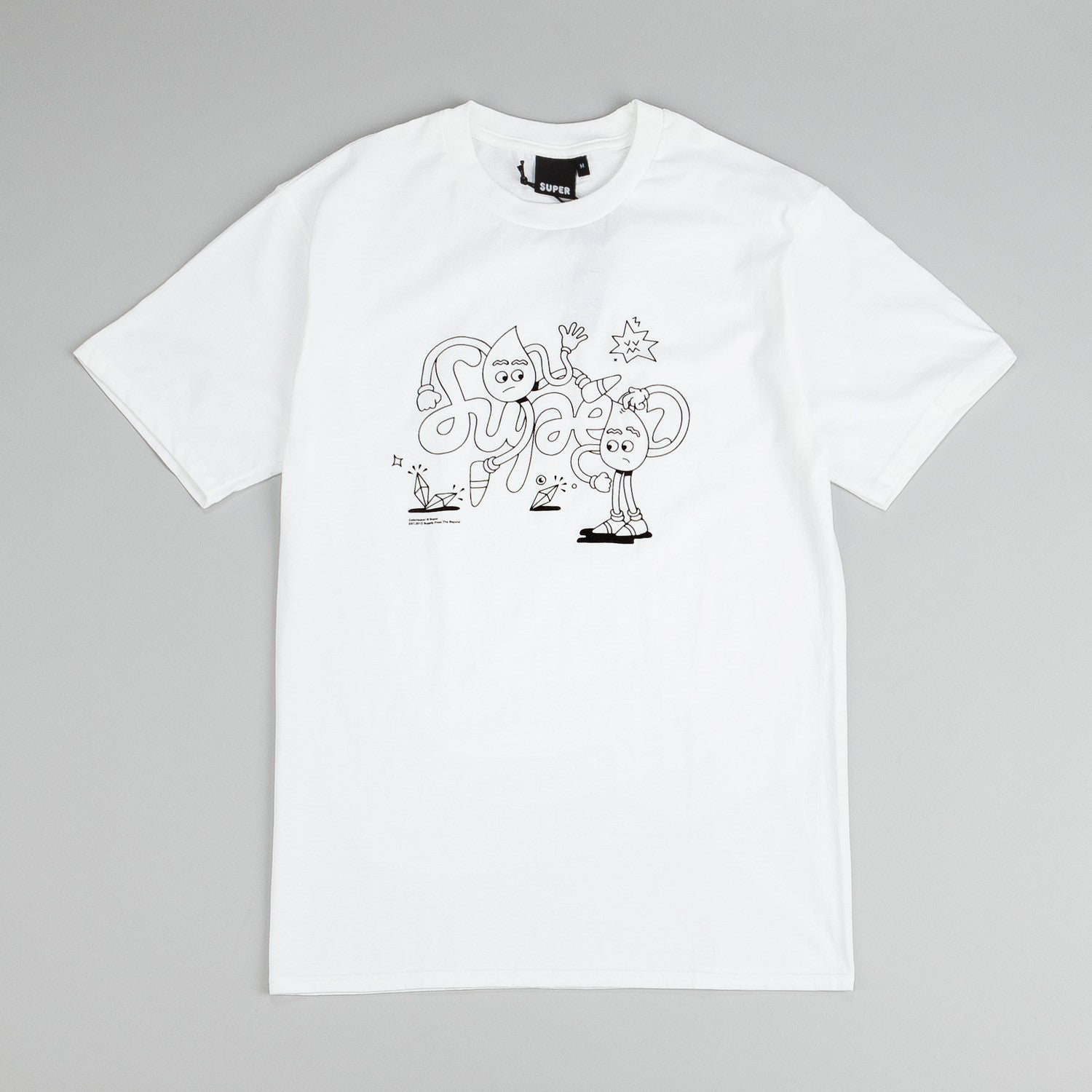 Colorsuper The Supers T-Shirt White / Black