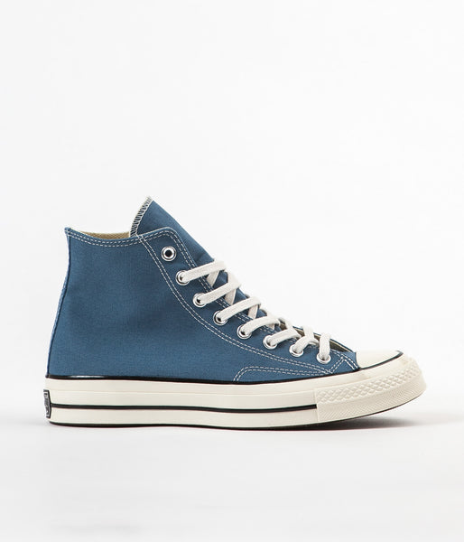 Converse 70's Hi Shoes - Blue Coast / Egret / Black