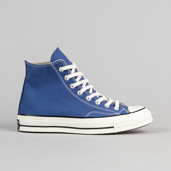 Converse CTAS 70 Hi Shoes - True Navy / Black / Egret