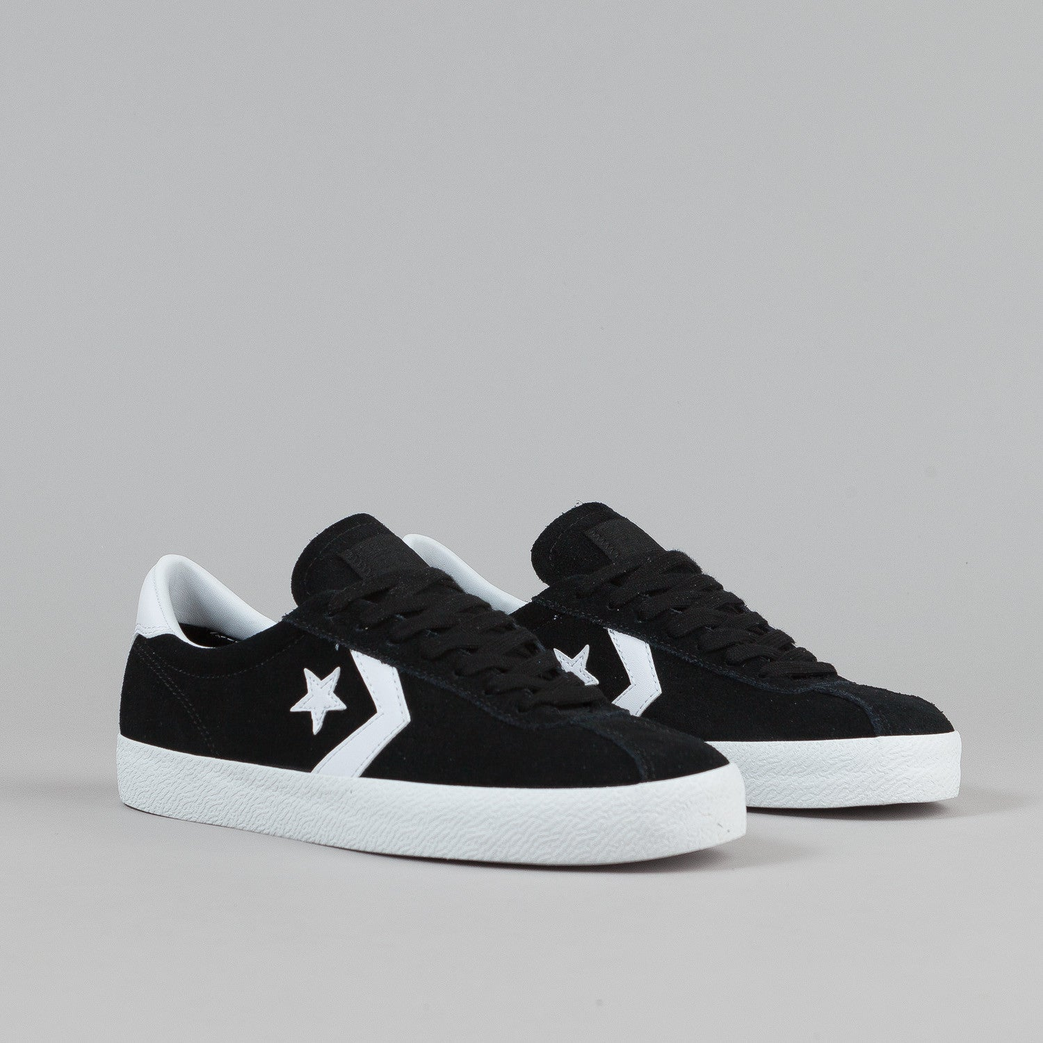 ... Converse Break Point Ox Shoes - Black / White ...