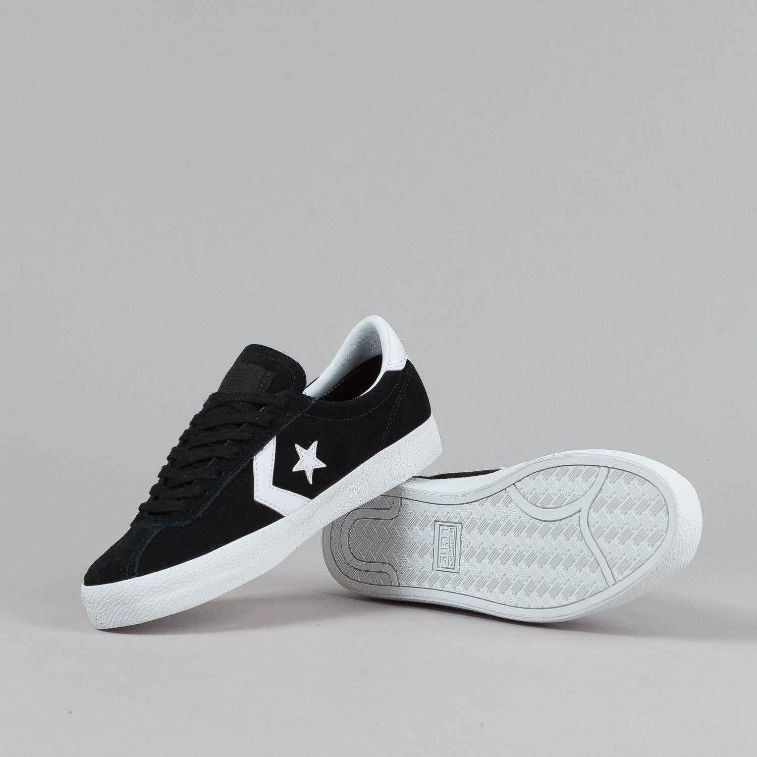 Converse Break Point Ox Shoes - Black / White