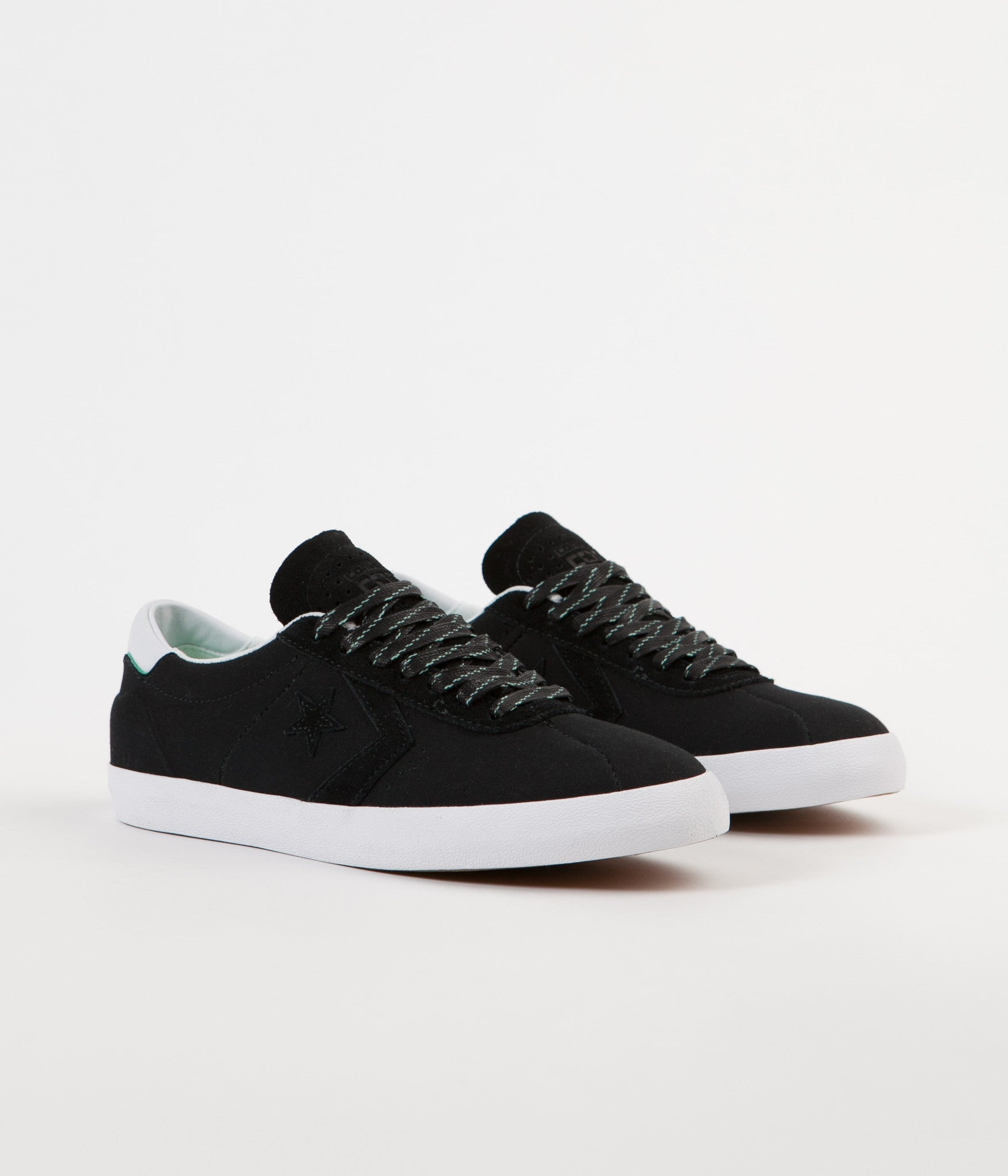 Converse Breakpoint Pro Ox Shoes - Black / White / Green