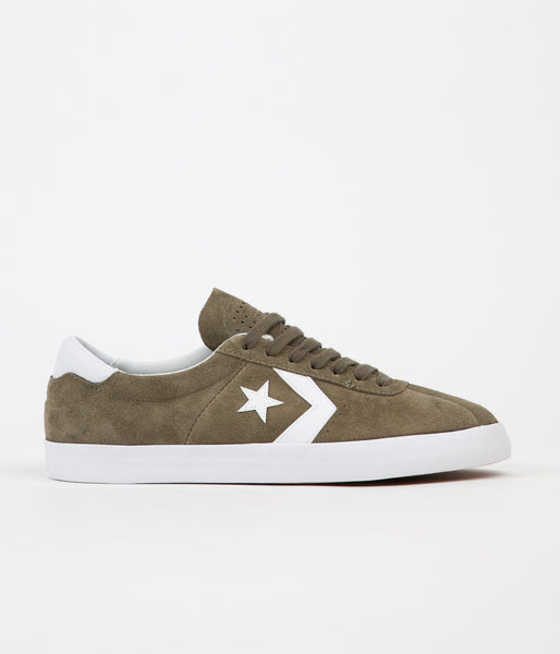 Converse Breakpoint Pro Ox Shoes - Medium Olive / White