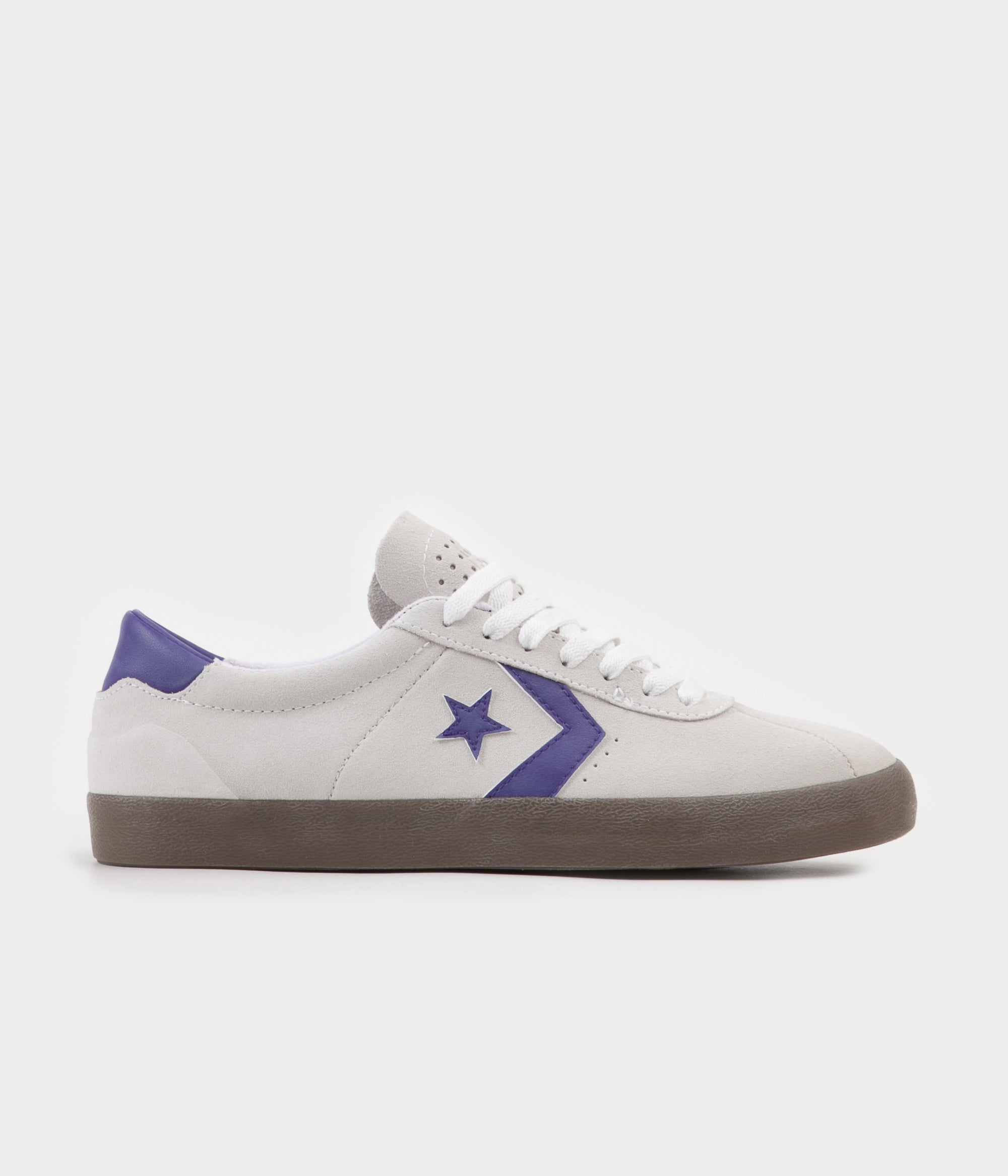 Converse Breakpoint Pro Ox Shoes - White / Court Purple / Gum