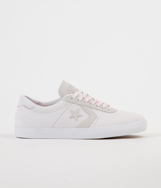 Converse Breakpoint Pro Ox Shoes - White / White / Pink Glow