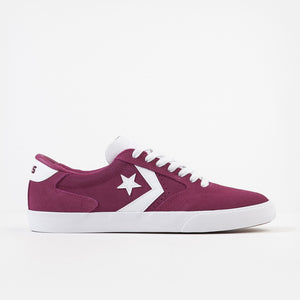Rose Maroon / White / White