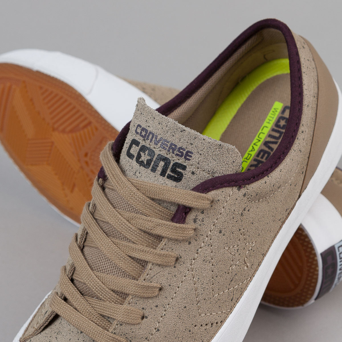 Converse CONS Sumner OX - Sandy / Black Cherry / White