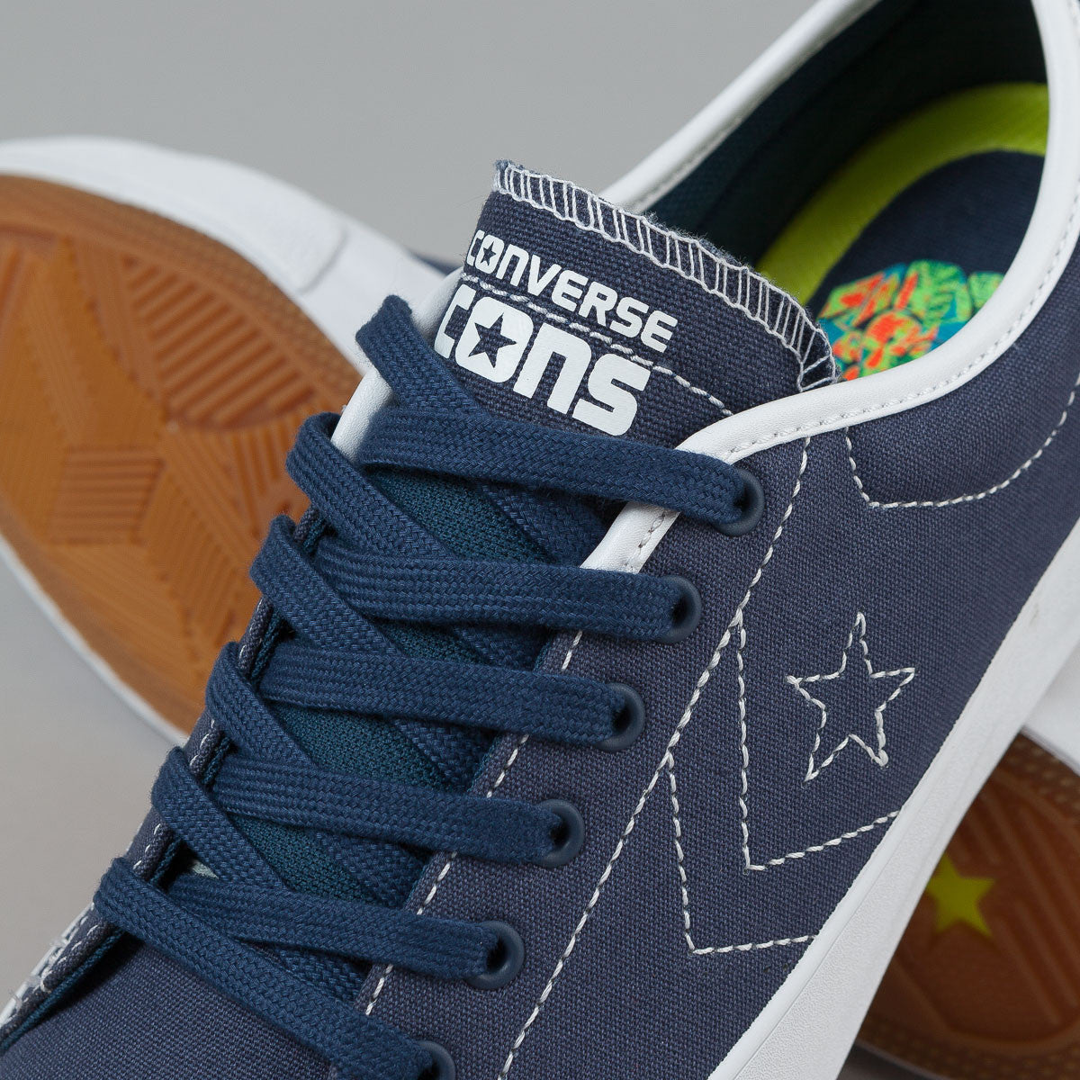 Converse CONS Sumner OX Shoes - (Louie Lopez) Navy / White / Navy