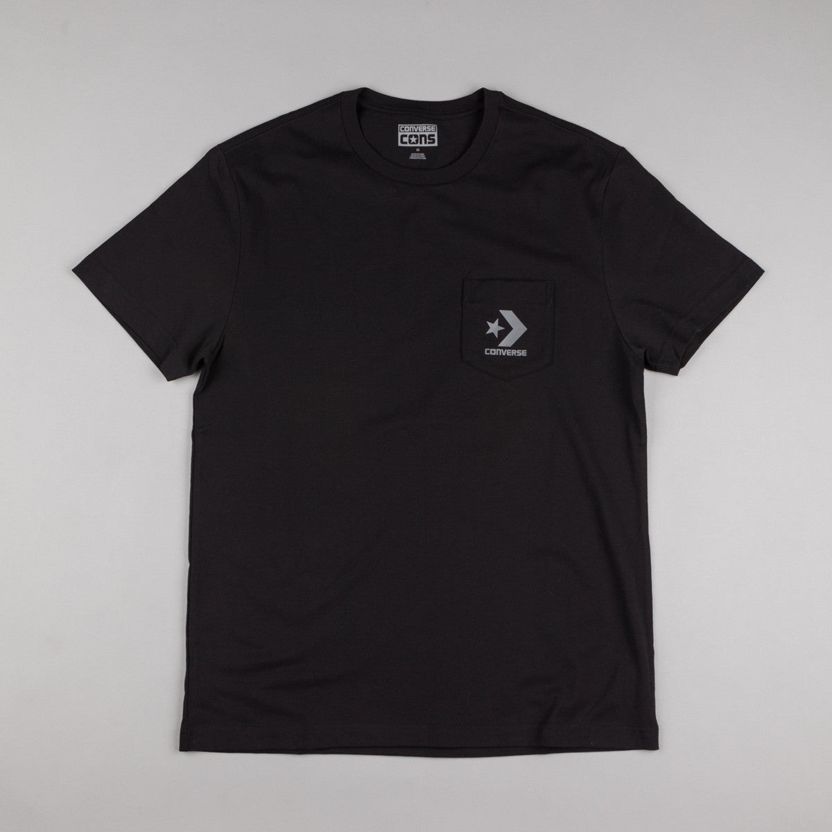 Converse Core Pocket T-Shirt - Black