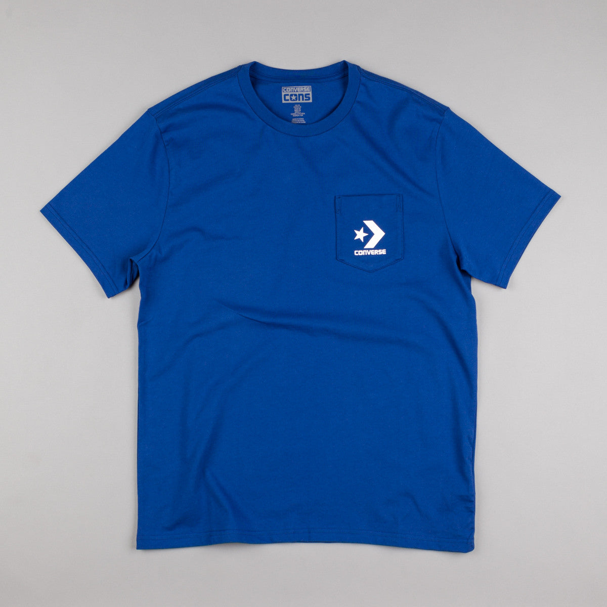 Converse Core Pocket T-Shirt - Roadtrip Blue