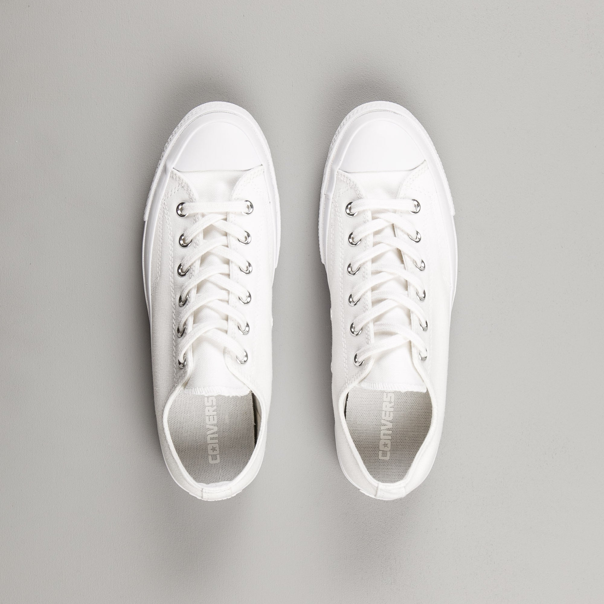 Converse CTAS 70 OX Shoes - White Monochrome