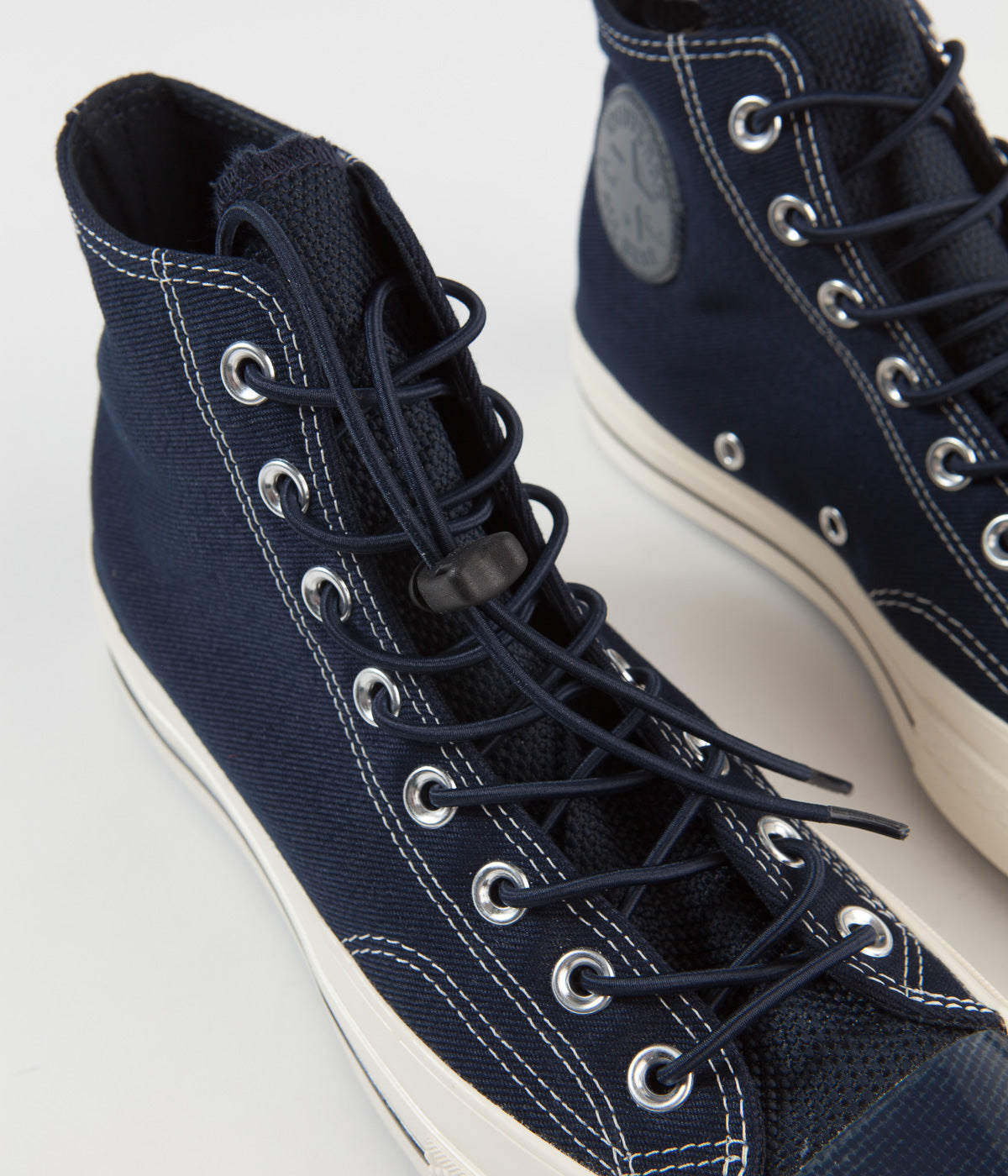 Converse CTAS 70's Hi Shoes - Dark Obsidian / Black / Egret