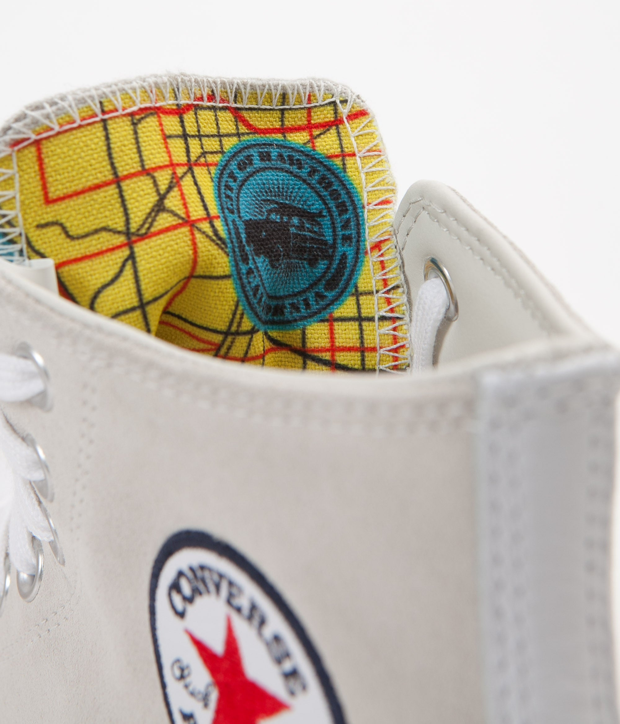 Converse CTAS Pro Hi Louie Lopez Shoes - Buff / White / Casino