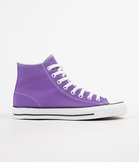 Converse CTAS Pro Hi 'Purple Pack' Shoes - Electric Purple / Black / White