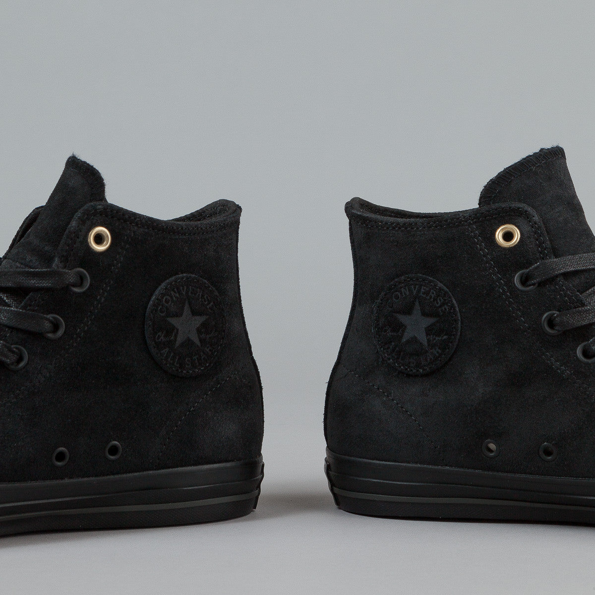 Converse CTAS Pro HI Shoes - Black / Black / Storm Wind