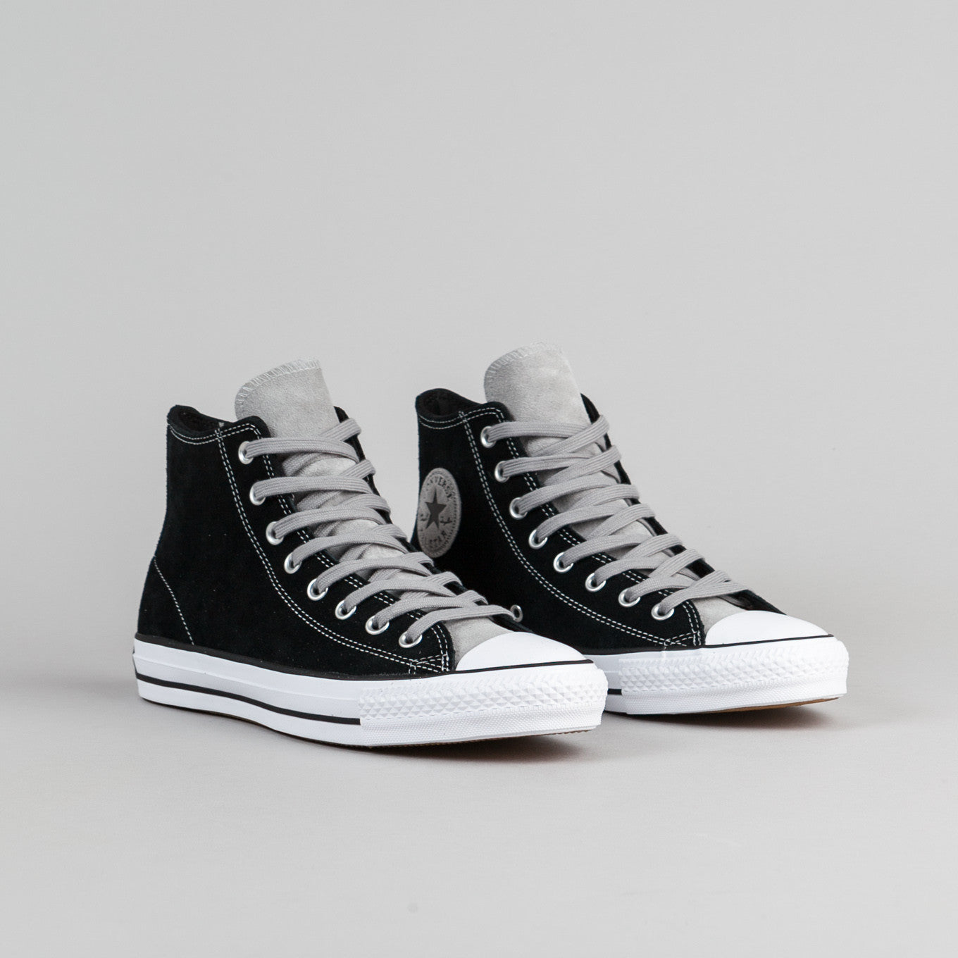 Converse CTAS Pro Hi Shoes - Black / Dolphin / White