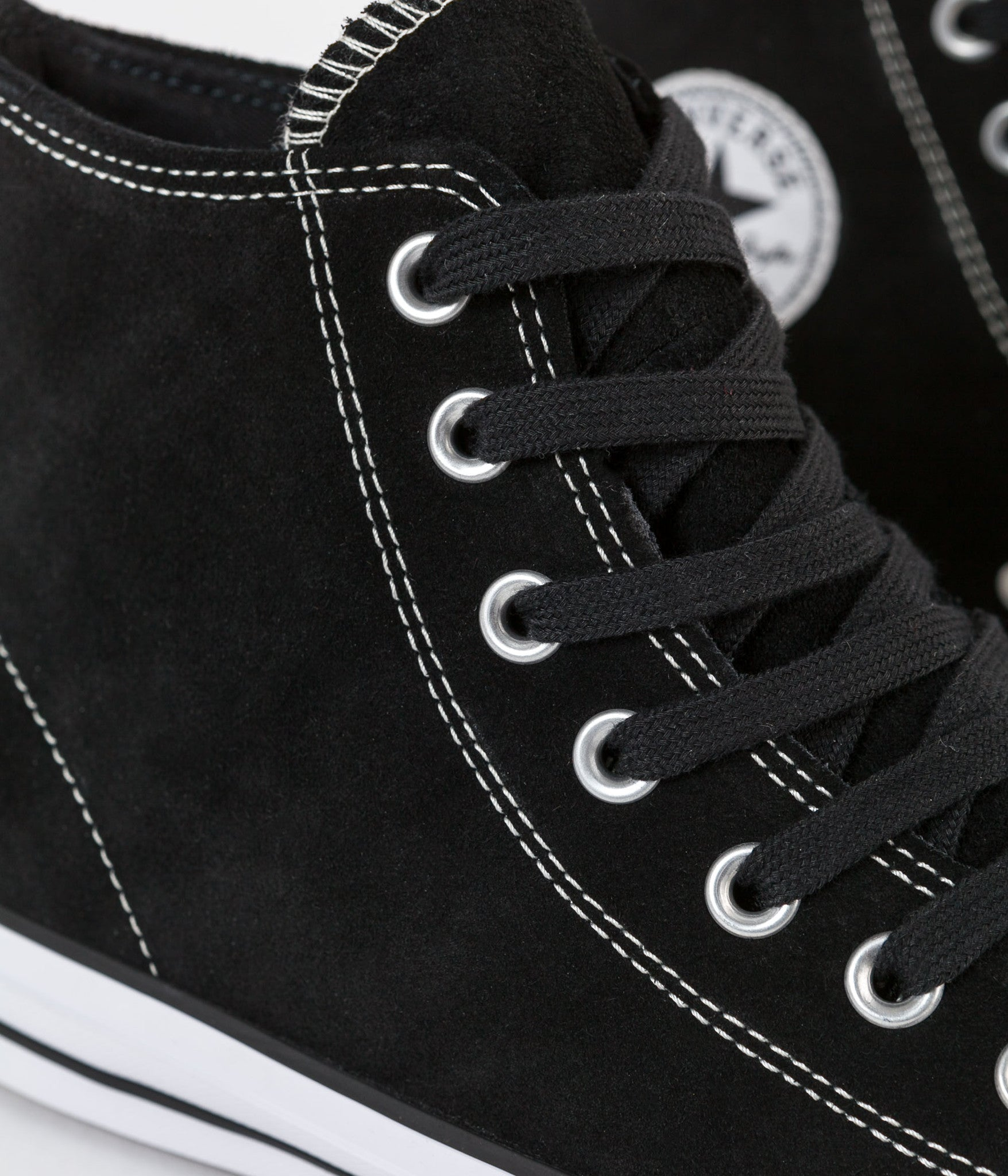 Converse CTAS Pro OX Hi Shoes - Black / White