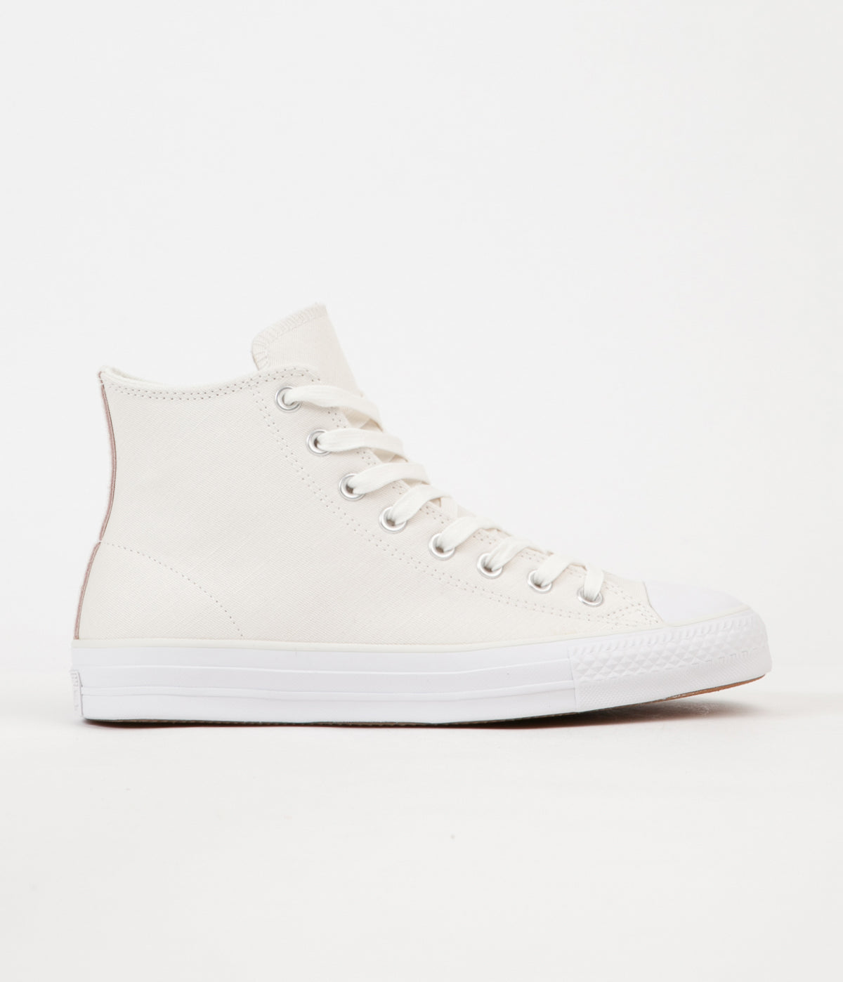 Converse CTAS Pro Hi Shoes - Egret / Dusk Pink / Light Fawn