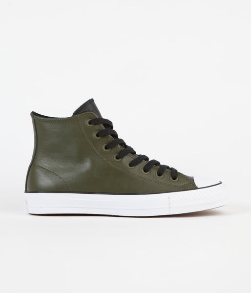 Converse CTAS Pro Hi Shoes - Herbal / Black / White