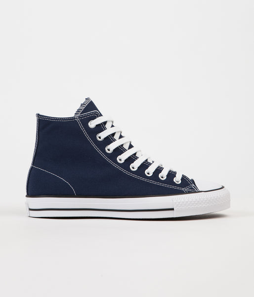 Converse CTAS Pro Hi Shoes - Midnight Navy / White
