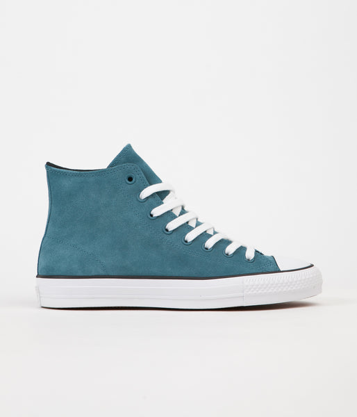 Converse CTAS Pro Hi Shoes - Teal / Black / White