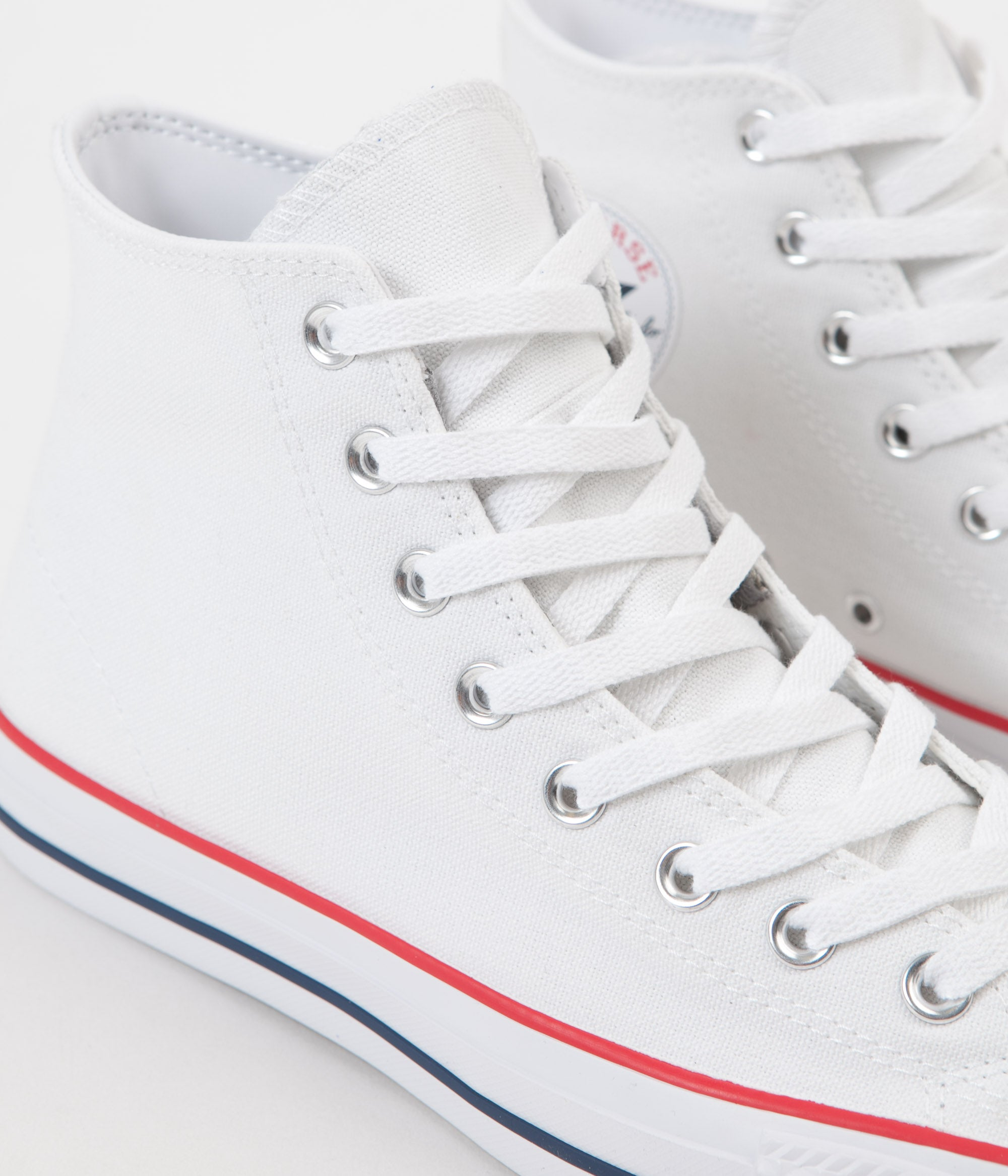 3ef4ee6895c1 ... Converse CTAS Pro Hi Shoes - White   Red   Insignia Blue ...