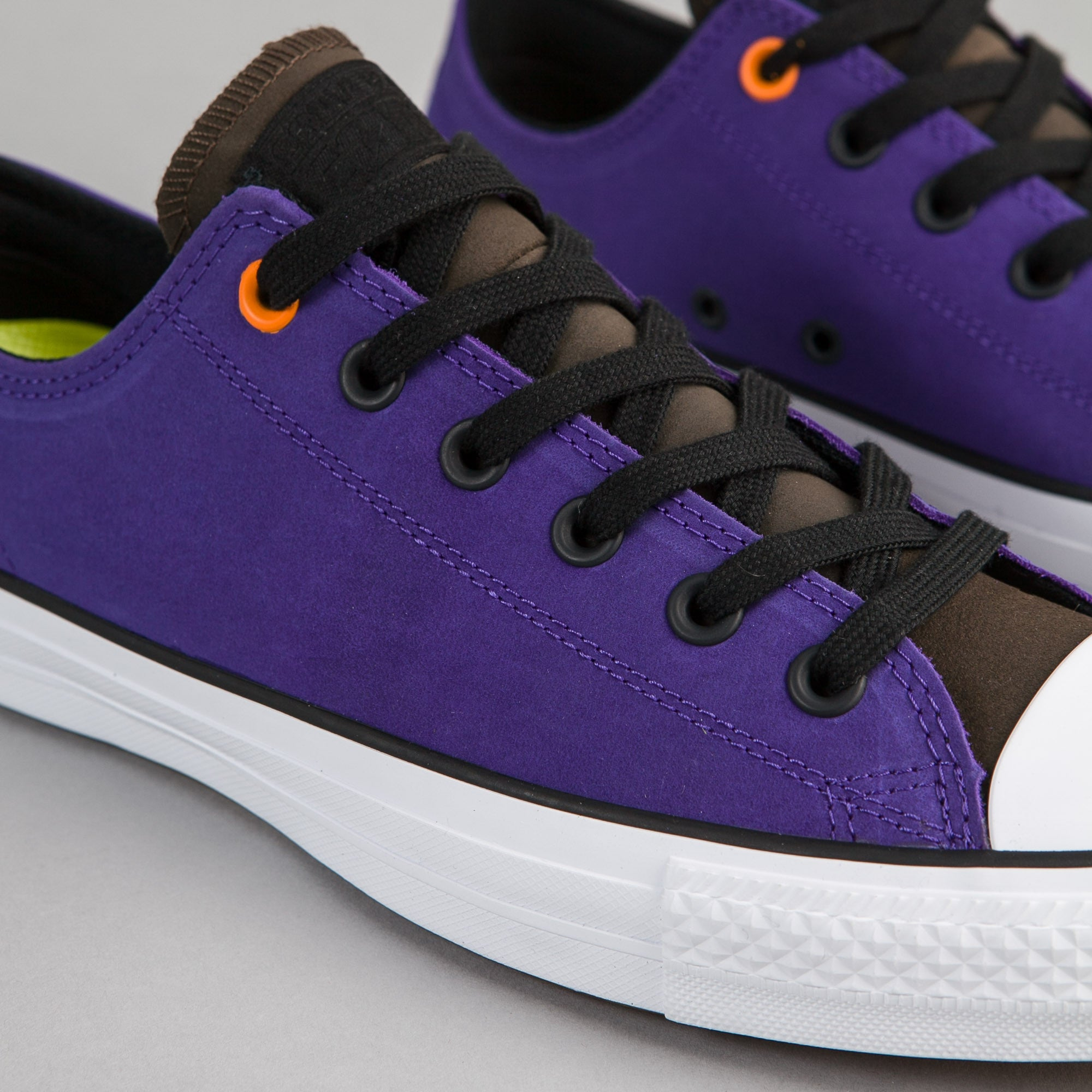 Converse CTAS Pro Leather OX Shoes - Candy Grape / Hot Cocoa / Black