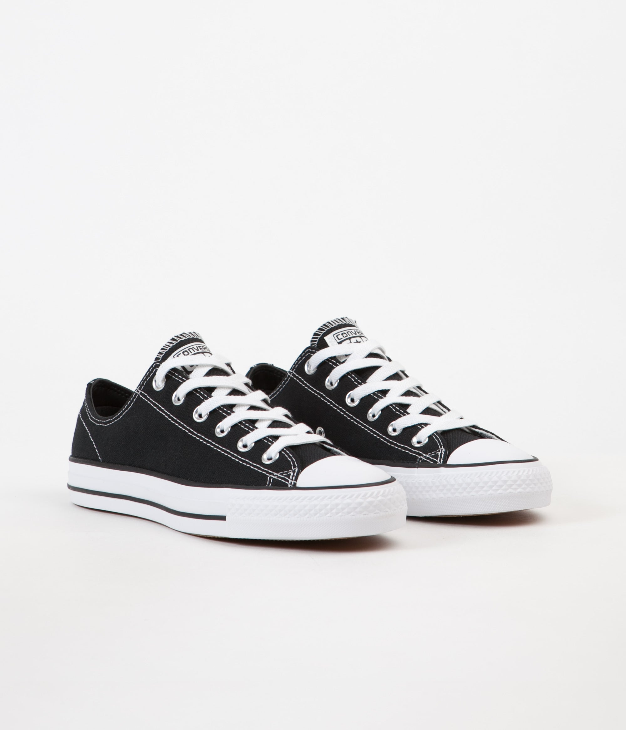 Converse CTAS Pro Ox Canvas Shoes Black Black White