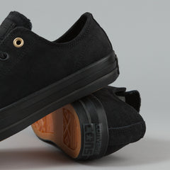 Converse CTAS Pro OX Shoes - Black / Black / Storm Wind
