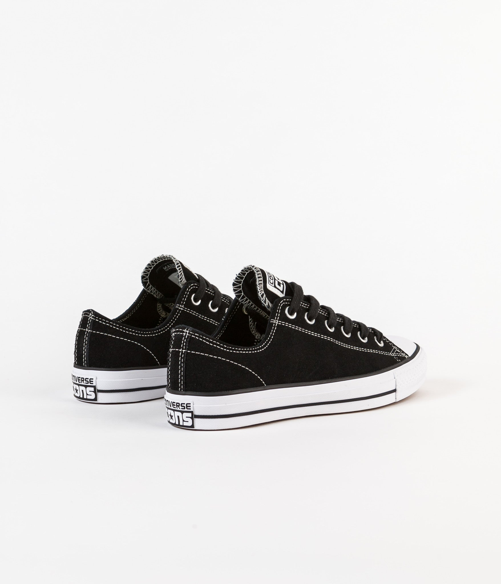 6cf41e4f469b ... Converse CTAS Pro Ox Shoes - Black   White ...
