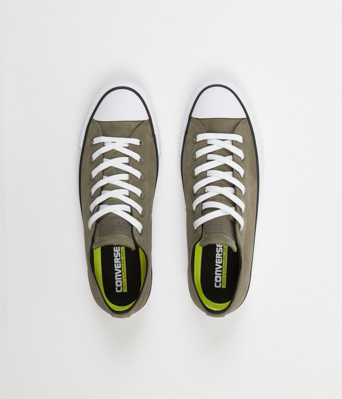 Converse CTAS Pro Ox Shoes - Medium Olive / Black