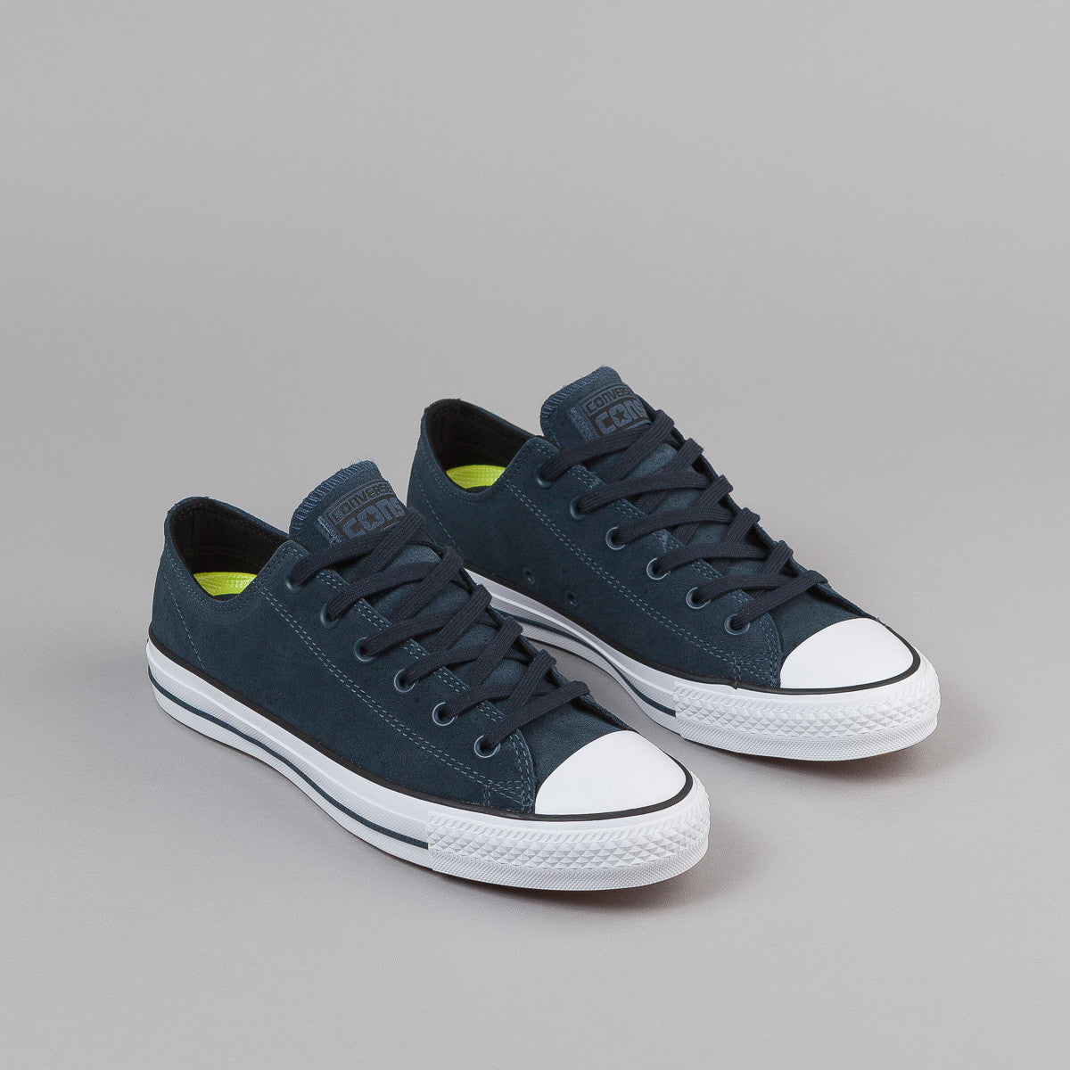 Converse CTAS Pro OX Shoes - Steel Can / Black / White