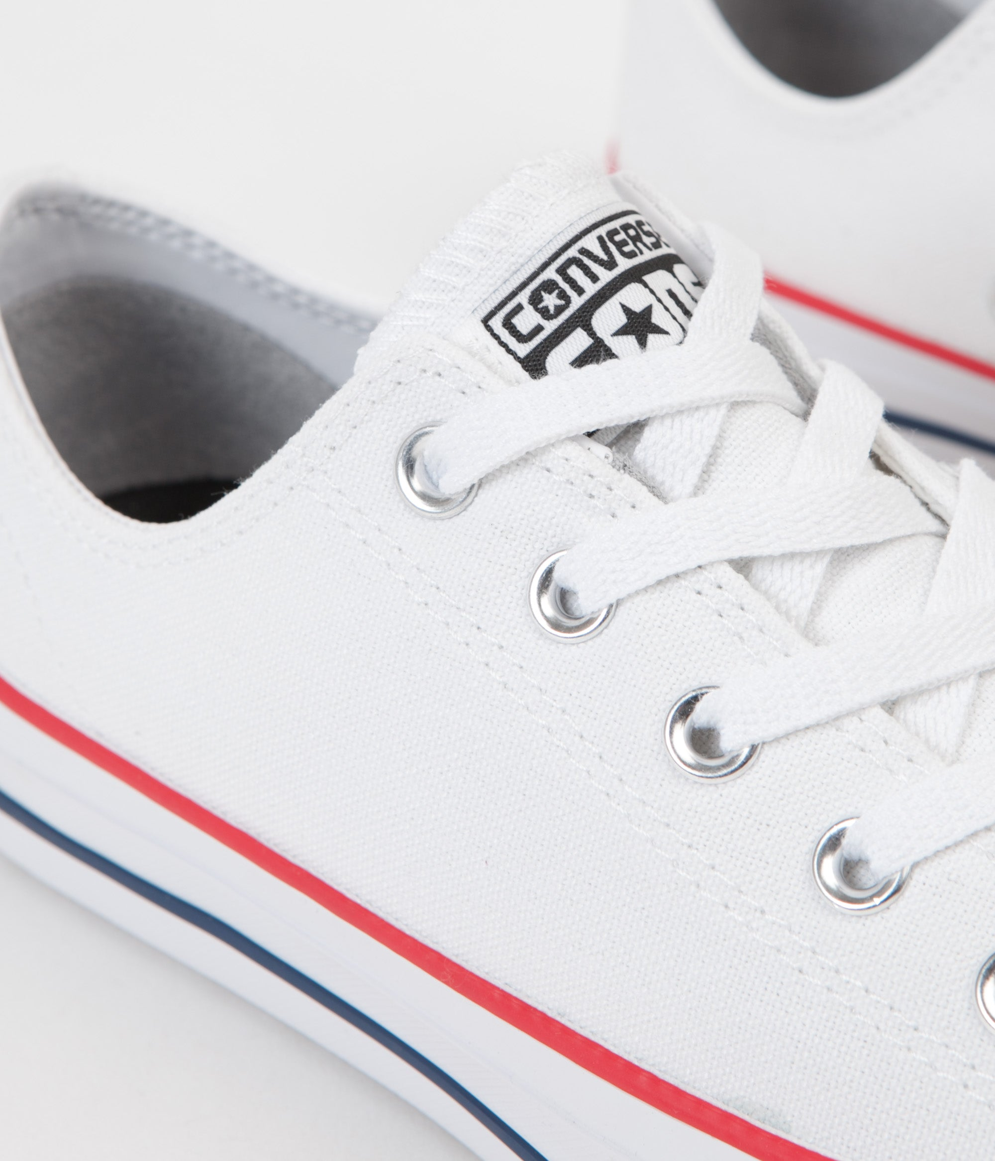 5c58c52020750e ... Converse CTAS Pro Ox Shoes - White   Red   Insignia Blue ...
