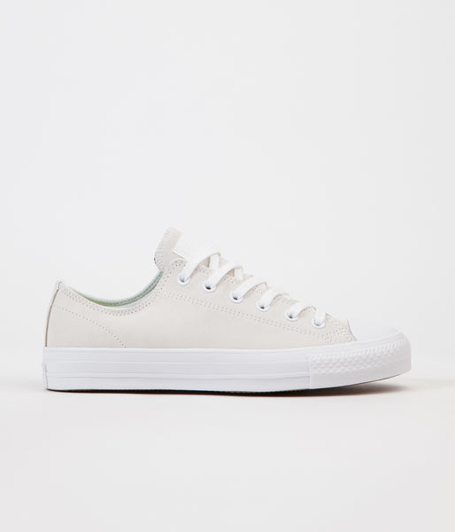 Converse CTAS Pro Ox Shoes - White / White / Teal