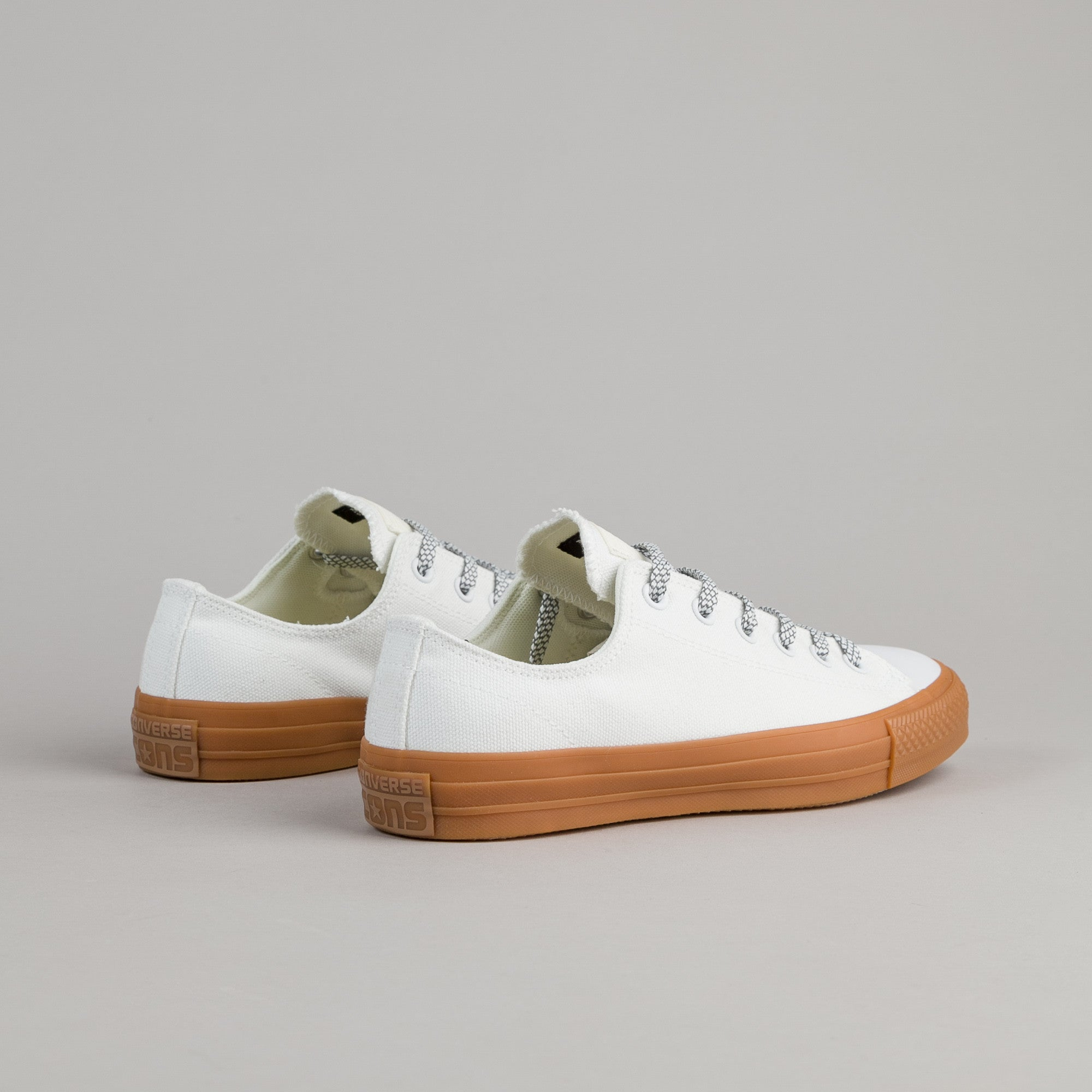 Converse CTAS Pro Shield Canvas OX Shoes - White / Egret
