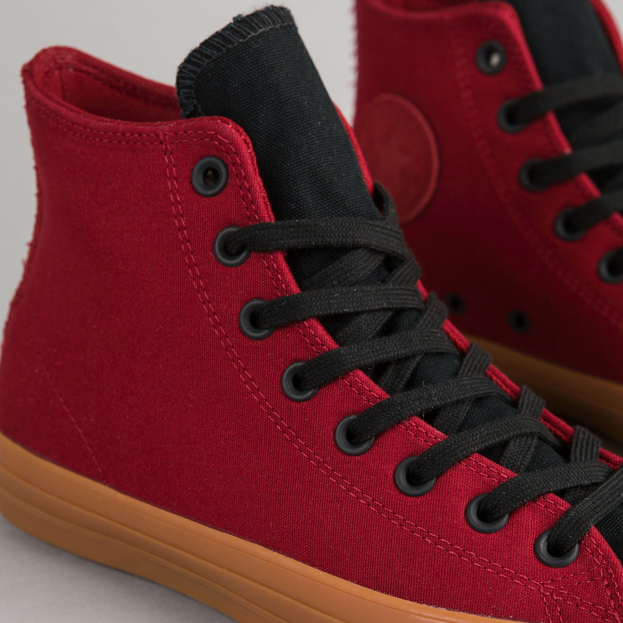Converse CTAS Pro Suede Backed Canvas Hi Shoes - Brick