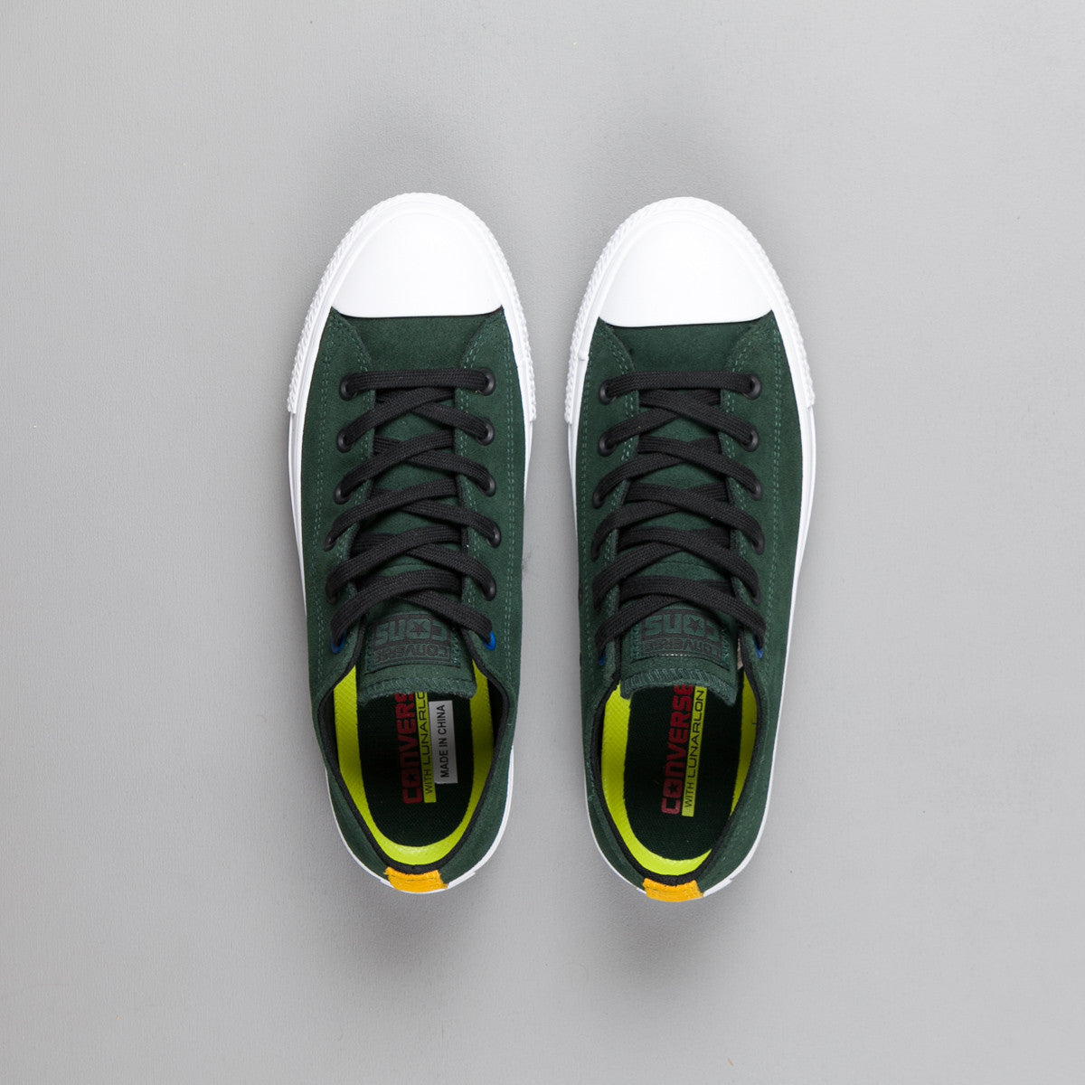 Converse CTAS Pro Suede OX Shoes - Deep Emerald / Black