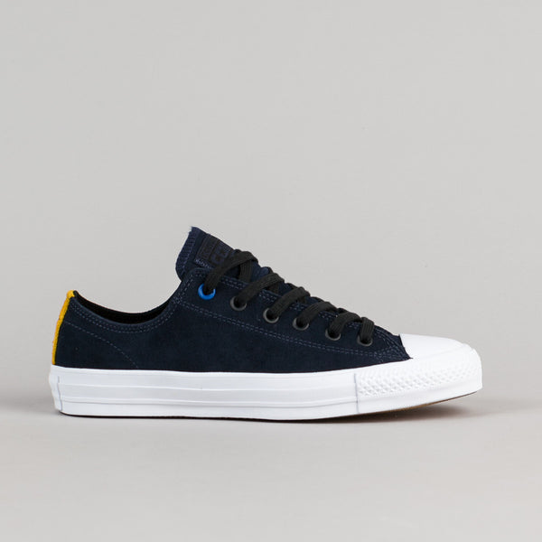 Converse CTAS Pro Suede OX Shoes - Obsidian / Black / White