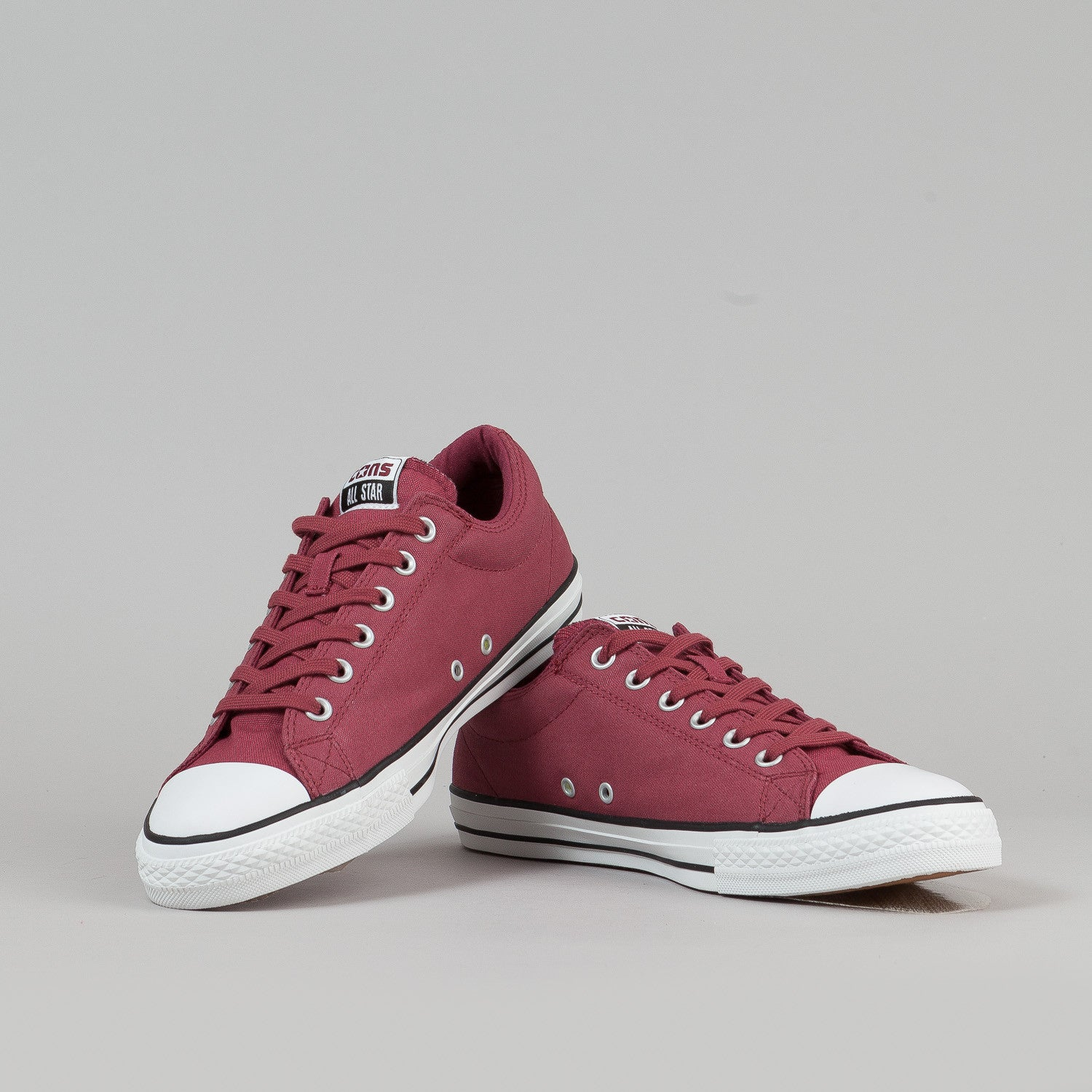 Converse CTS OX Shoes - Cranberry / White