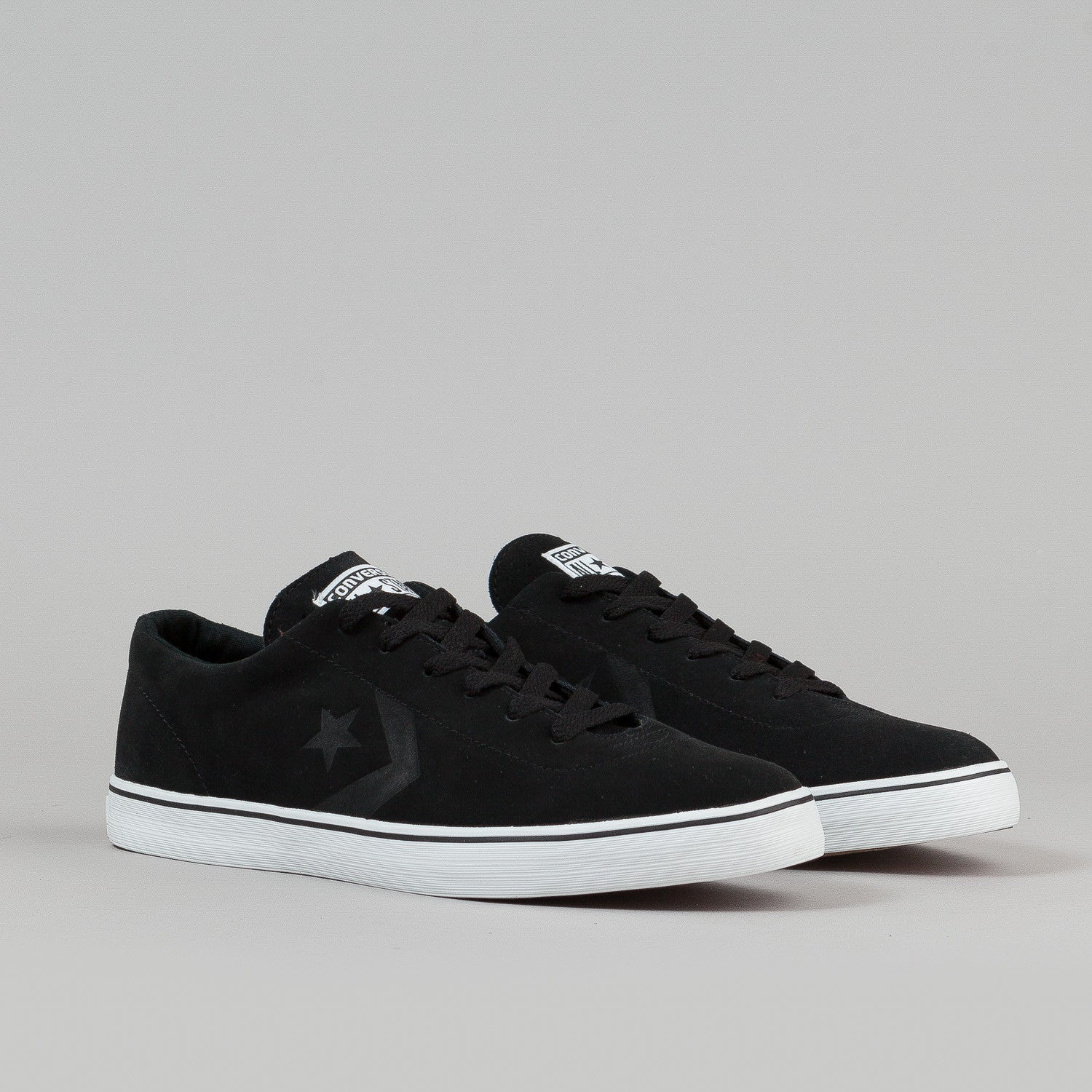 Converse Elm LS OX Shoes - Black / White