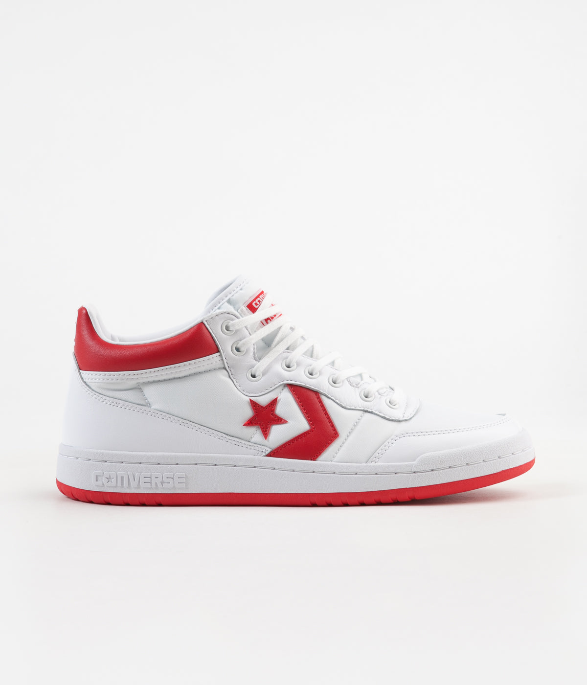 Converse Fastbreak Mid Shoes - White / Casino / White