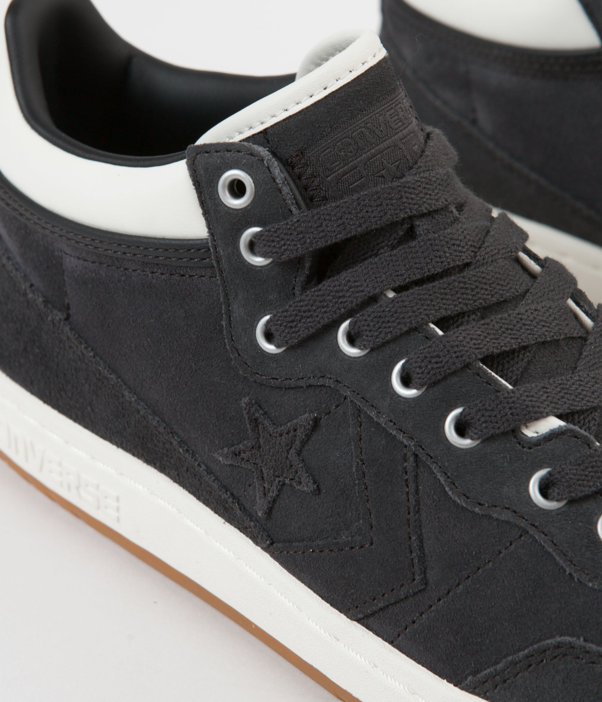 Converse Fastbreak Pro Mid Shoes - Almost Black / Egret / Gum